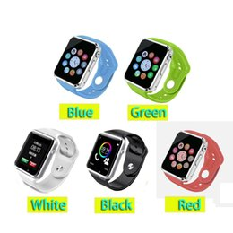 Wholesale 2016 News A1 Bluetooth Smart Watch Wrist Watch Men Sport watch for Apple iPhone Samsung S4 Note Note HTC Android IOS Phone