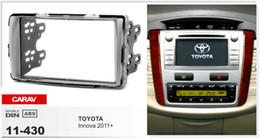 CARAV 11-430 Top Quality Radio Fascia for TOYOTA Innova 2011+ Stereo Fascia Dash CD Trim Installation Kit