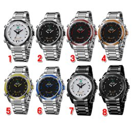 Wholesale 2015 WEIDE Watch High end Men s Watch Military Watch Sports Quartz Wristwatches color Watch month Guarantee WH DHL Free Churchill