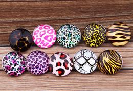 JACK88 DIY Mix Styles 30 pcs lot 18mm Leopard Grain Snaps Button Fit Ginger Snap Charm Bracelet Jewelry N034