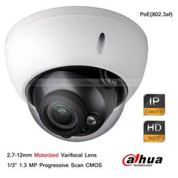 2017 dôme intérieur caméras ip Dahua 1.3MP 960P 2.7mm-12mm Caméra caméra IP infrarouge à caméra infrarouge peu coûteux dôme intérieur caméras ip