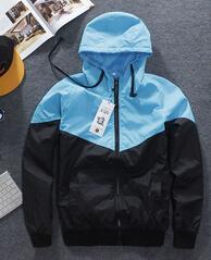 Men Jacket Autumn Patchwork Reflective 3m Jacket Sport Hip Hop Outdoor Waterproof Windbreaker Men Coat