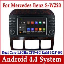 Wholesale Android Car DVD Player for Mercedes Benz S W220 S280 S320 S350 S400 S430 S500 with GPS Navigation Radio BT Stereo