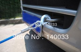 Wholesale T M Heavy Duty Tonne Emergency Steel Recovery Tow Rope For Car Van Truck Camping