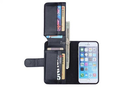"""Card Holder Flip Wallet Leather Case Cover For Apple iPhone 4 4s 5 5s For iphone 6 4.7 & ipone 6 Plus 5.5"""""""