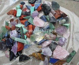 Wholesale natural white crystal red jasper Lapis lazuli red and green treasure golden sand blue sand smelting stone amethyst aventurine