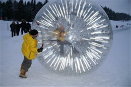 Wholesale New Zealand Arrival M M Inflatable Flash Zorb Ball Zorbing Human Hamster ball Hydro Zorb PVC MM Lawn Zorb Ball Snow Sports Ball