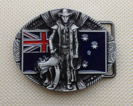 Au Cowbay belt buckle with pewter finish SW-BY112 suitable for 4cm wideth belt with continous stock free shipping