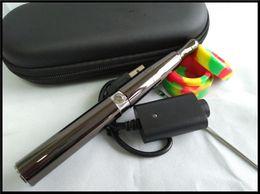 ago quartz coil wax vape pen electronic cigarette full ceramic chamber wax attachment vaporizer kit with dab tool wax jar puff co