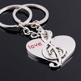 Wholesale Fashion Heart lovers keychain Valentines Gift Christmas gifts Wholesale keychains gifts Best Girlfriend Keychains Gifts