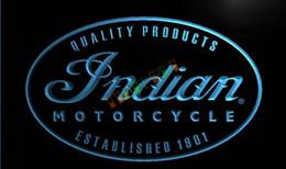 Wholesale LG214 TM Indian Motorcycle Service Neon Light Sign Advertising led panel jpg