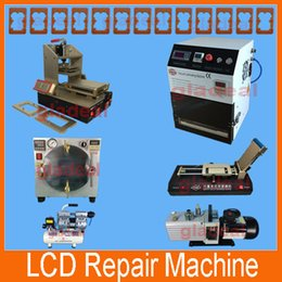 Wholesale LCD Separator Frame Separator for Samsung Bezel Laminator for iPhone Glue Remover Vacuum OCA Laminating Machine Autoclave Bubble