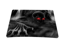 Wholesale Computer Accessories Laptop Netbook PC Punk Skull Mouse Pad Mice Pad Mat Mousepad For Optical Laser Mouse