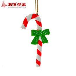 Wholesale Christmas tree decoration x cm process high grade pendant gift rod shape g supplies natal snowflake crafts hanging party supplies