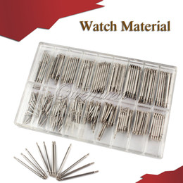 Wholesale 360pcs set mm Length Stainless Steel Watch repair set Watch Wrist Band Spring Bars Strap Link Pins Tool
