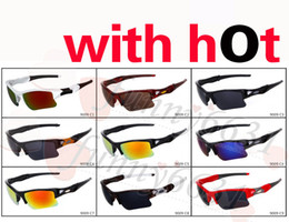 Wholesale Sports Sun Goggles - 2016 brand new fashion men's Bicycle Glass sun glasses Sports goggles driving sunglasses cycling 9colors good quality free shipping