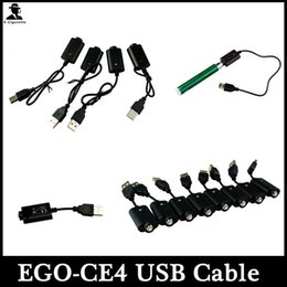 Ego USB Charger Cable Ego-CE4 Electronic Cigarette USB Charger For Ego-T Ego-K Ego-W Vision Spinner Ecig Battery