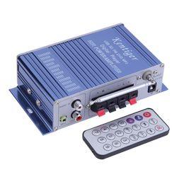Wholesale Hi Fi Power Stereo Car Auto Amplifier Home Audio Video Amplifiers USB FM DVD CD MP3 Digital Bass Subwoofer Speaker Boostrer