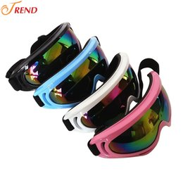 Wholesale 200pcs Newest Outdoor Dustproof Snow Glasses Men Motocross Riot Control Goggles Downhill Windproof Glasses Ski Goggles