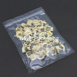 Wholesale Clear Zipper Top cm Self Seal Poly Pouches With Valve Zip Lock Storage Bags For Tea Baking Powder Beans Candy