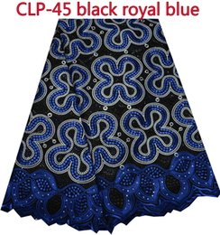 Wholesale Latest African Cotton Swiss Voile Lace Fabric High Quality African Swiss Voile Lace CLP