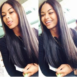 Peruvian Straight Virgin Hair Human Hair Bundles Hair Extensions Natural Color Straight Weave Top Queen Hair 8A 3 Bundles
