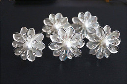 Fashion Jewelry Bridal Wedding Prom Crystal Rhinestone Alloy Flower Hair Pins Hiar Clips For Women