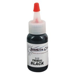 Wholesale 5pcs Tribal black color tattoo ink ml OZ permanent makeup pigment for tattoo eyebrow