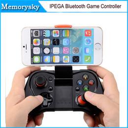 Pc joystick en Línea-El más reciente del iPega PG-9033 Bluetooth Wireless Gaming Controller Controle Gamepad Joystick para Android iPhone Android iOS PC TV 010209