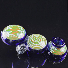 Wholesale Lolly Shape Glass Smoking Pipes for Tobacco Caterpillar Glass Oil Pipes Artistic Pipes Hand Pipes Portable Heady Glass Oil Burners