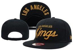 Wholesale 2016 HIGH QUALITY ACRYLIC NEW CHEAP NHL VINTAGE LOS ANGELES KINGS BLACK GORRAS HOCKEY ADJUSTABLE CAPS SNAPBACK HATS