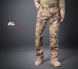 Wholesale Multicam Airsoft Military Camouflage Ix7 Pants Blind Hunting Clothing Tactical Cargo Pants Army Combat Pants Camouflage Fatigues