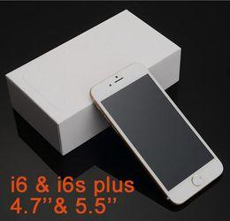 Descuento 3g usb libre Goofón 4.7 5,5 pulgadas i6 i6s 6s más el teléfono móvil de la base del patio Teléfono móvil SmartPhone 13.0MP de la ROM 8GB 3G del RAM 5.0GB del AMO 5.0GB Envío libre