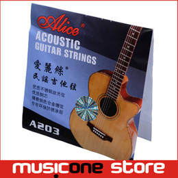 High Quality Alice A203SL 011-052 Folk Guitar String Wholesale Free shipping MU0239