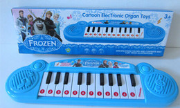 Wholesale best price Musical instruments toy Frozen girl Cartoon electronic organ toy keyboard electronic baby piano with music for kids