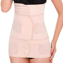Wholesale new women postpartum recovery corset belly waist pelvis belt slimming body support band in