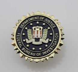 Wholesale The badge of the Federal Bureau of investigation FBI mind personality chapter badge badge