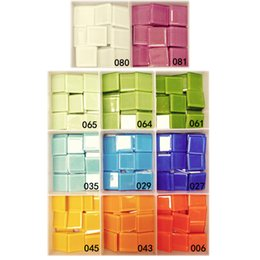 Wholesale 180PCS color cm mosaic beads Scramble tiles Mosaic crafts Craft material Mosaic art DIY accessories Home decoration