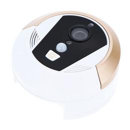 Wholesale Wireless Remote Mobile Control WIFI MP Smart Video Door Phones Visual Doorbell P2P CMOS Cellphone Home Security Door Bell DHL S450