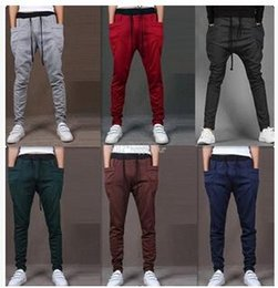 best-selling Harem Pants New Style Fashion Casual Skinny Sweatpants Sport Pants Crotch Jogging Pants Men Jogger