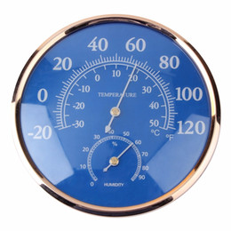 Wholesale Large Round Thermometer Hygrometer Temperature Humidity Monitor Meter Gauge hot selling