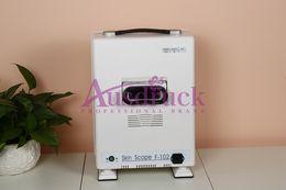 Wholesale Fast shipping Skin Scanner Diagnosis Analyzer Facial Skin Scope PORTABLE Analyzer Portable boxtype beauty machine
