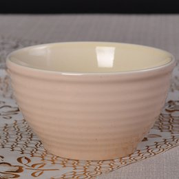 Wholesale The hotel supplies solid color ceramic glaze large bowl large bowl of beef noodle bowl of Japanese family tableware