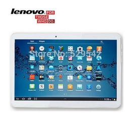 2017 tablettes quad core 10 pouces Lenovo tablette A101 MTK6582 Quad Core 2G RAM 32G ROM double carte SIM Android 4.4 Tablette PC 3G 7 9 10.1 tablettes quad core ventes
