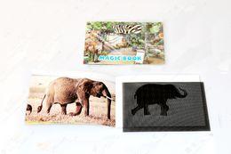 Wholesale magic animation book zoo magic moving images animated optical illusion magic tricks magic props