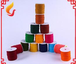 Wholesale 300m roll mm nudo de la cuerda china de nylon hilo Macrame Cordón Collar rebordear pulsera trenzada envío libre de DIY