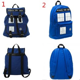 Dr. Who Tardis Backpack Doctor Who Tardis bag Doctor Who bag backpack Tardis Knapsack Free shipping