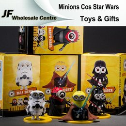 Wholesale Action Figures Despicable Me Minions Cosplay Starwars Star Wars Dolls PVC ACGN Cartoon Figure Brinquedos Christmas Kids Toys and Gifts