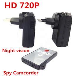 1280*720 30FPS Remote Control Hidden spy Camera Charger Recorder DVR with Night Vision spy Camcorder