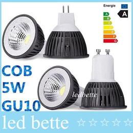 Brand New COB 5W conduit ampoules lumière GU10 E27 E26 MR16 Dimmable conduit spots blanc chaud / froid 110-240V 12V + CE ROHS CSA approuvé mr16 warm white cob 5w for sale à partir de mr16 blanc chaud torchis 5w fournisseurs
